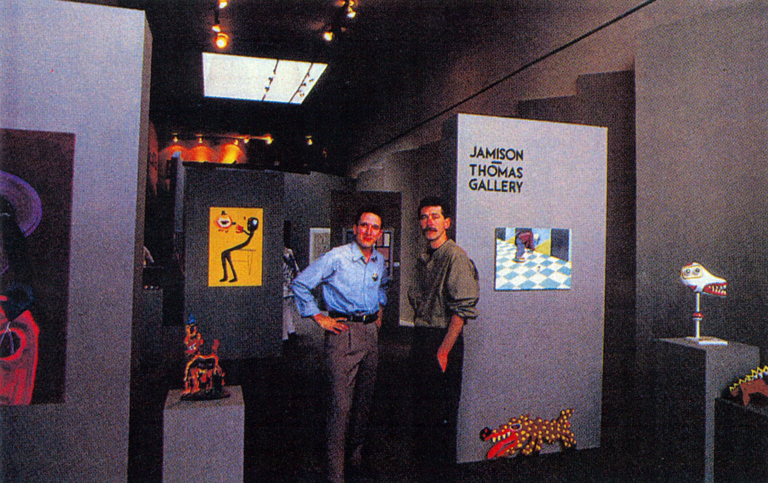 William Jamison & JeffreyThomas / NYC / 1985