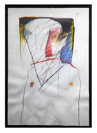 Crow Man Transformation Drawing