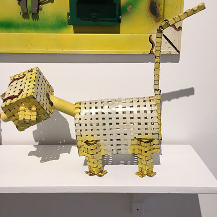Woven Dog Music Box