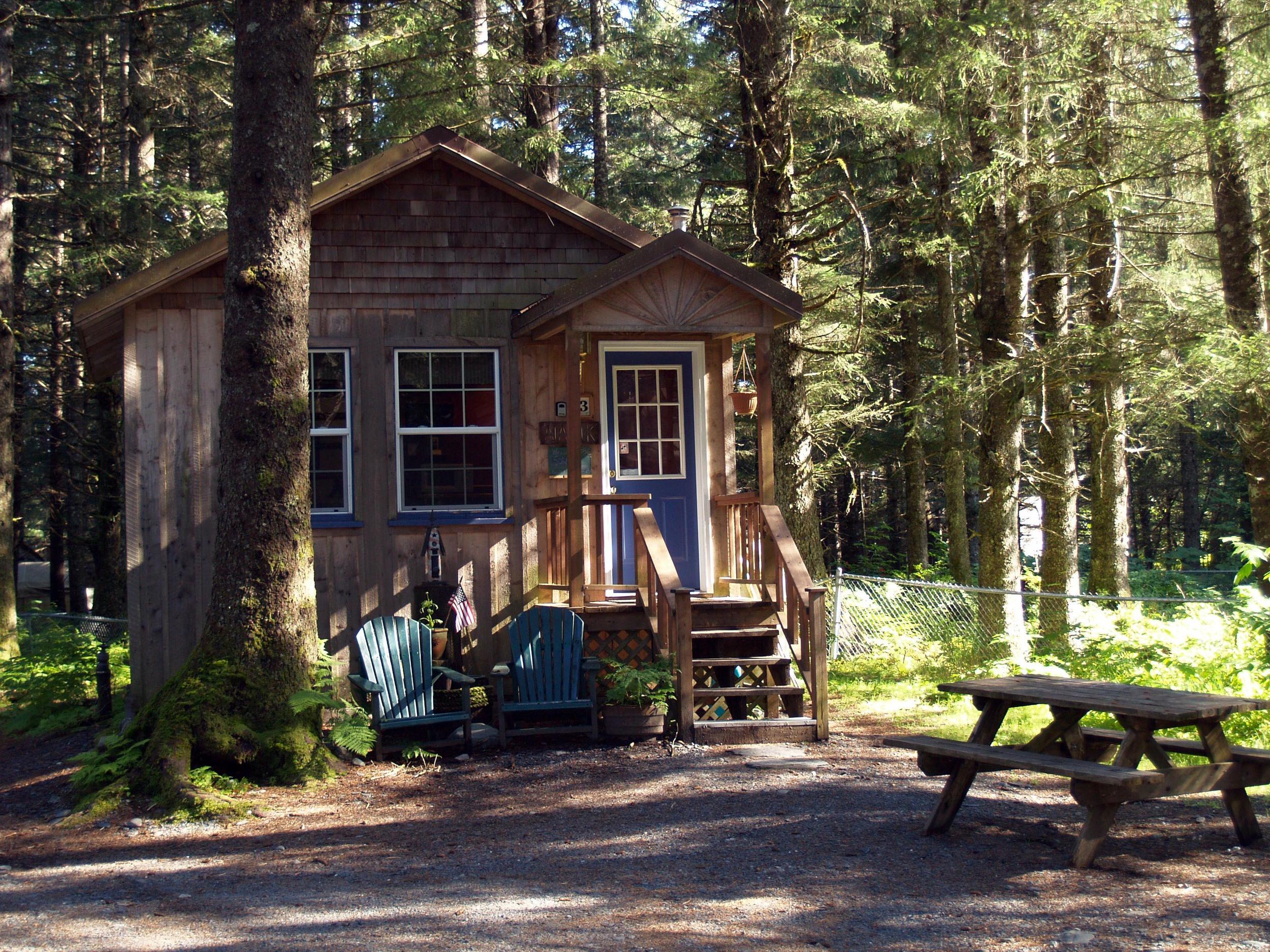 Aialik Glacier Cabin  Sleeps 4
