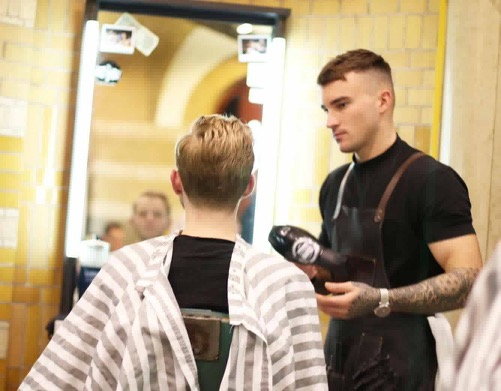 """We have the pleasure of welcoming Tommy Burbidge as our first Guest Spot within the Barbers. Being a world-renowned Barber you should ensure to make you bookings quickly as they are sure to go fast!""    Rob Czlapka (Barber Below Owner)"
