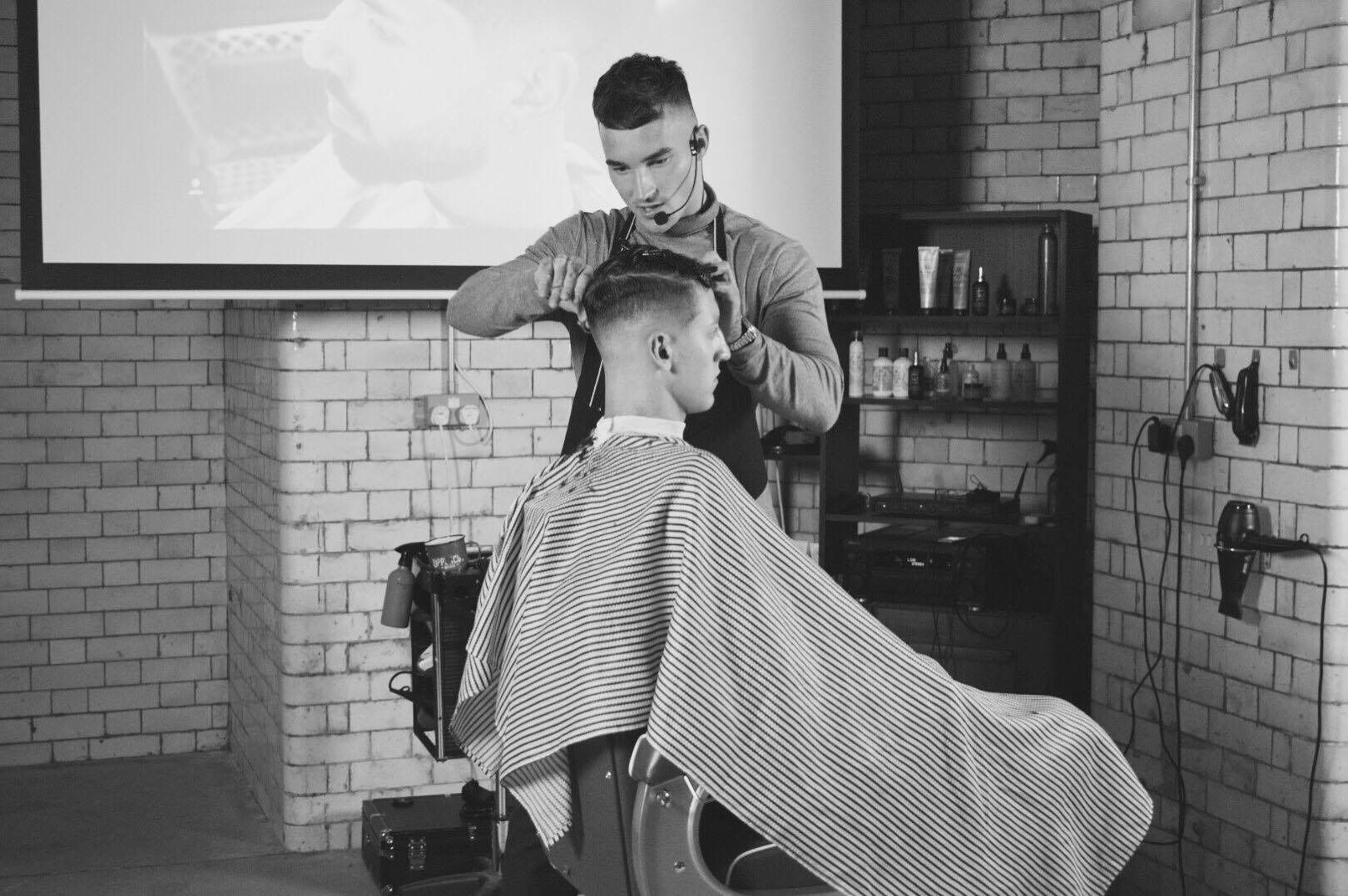 Barber Below Manchester