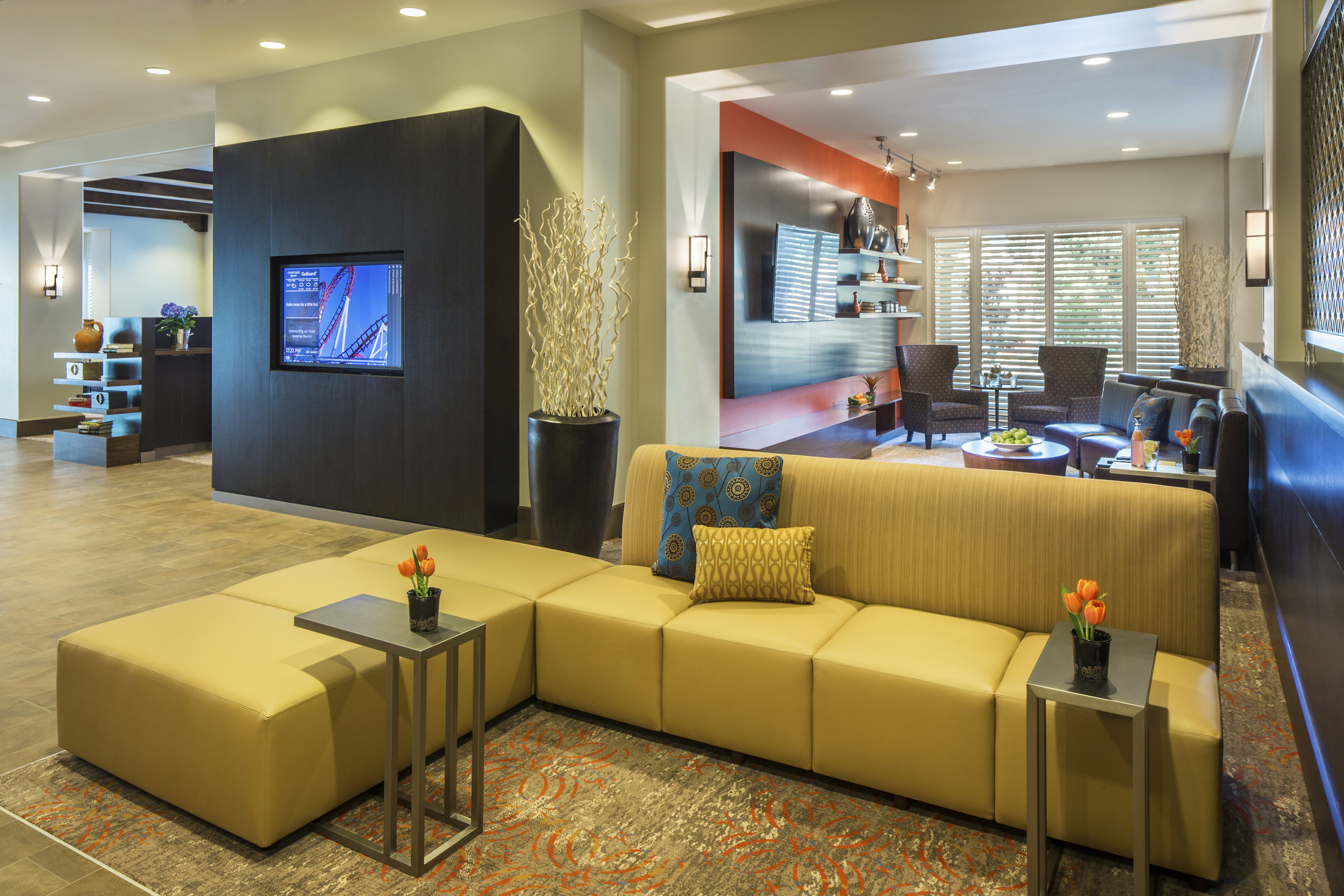 Lobby and Home Theater