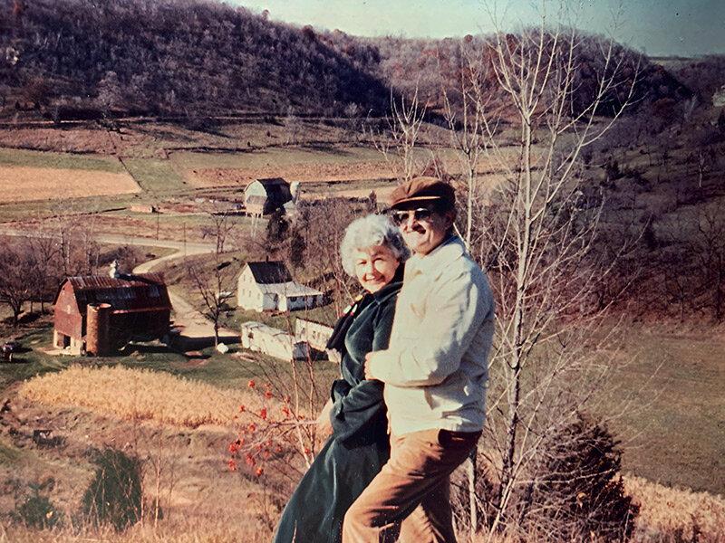 Richard and Mechtild Calnin, circa 1980