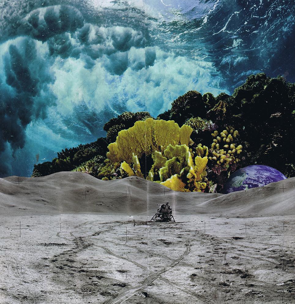 Handmade Collage 34x35 cm /2017