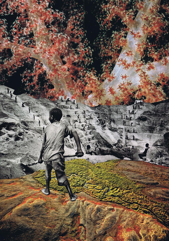 Handmade Collage 33x46 cm / 2018