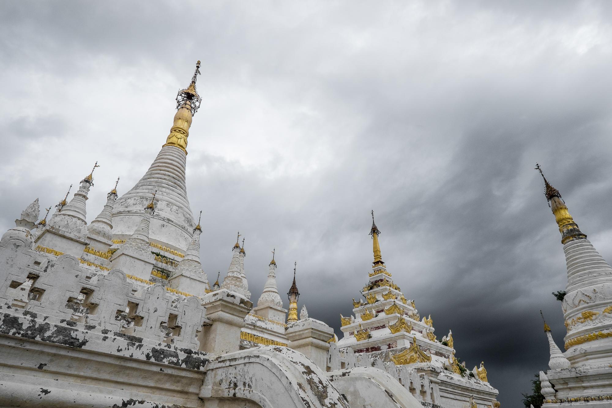 Inwa - Mahar Aung Mye Bon San Monastery