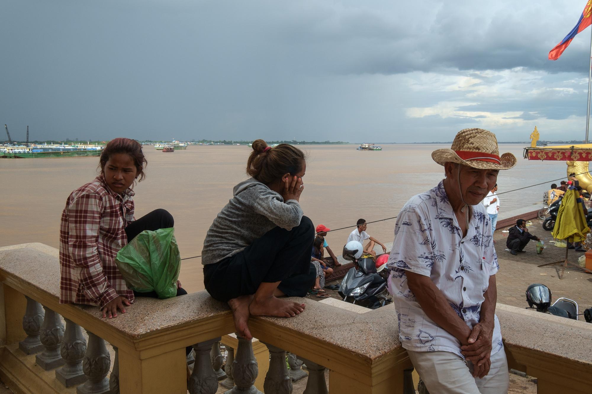 Phnom Penh - on the Mekong banks