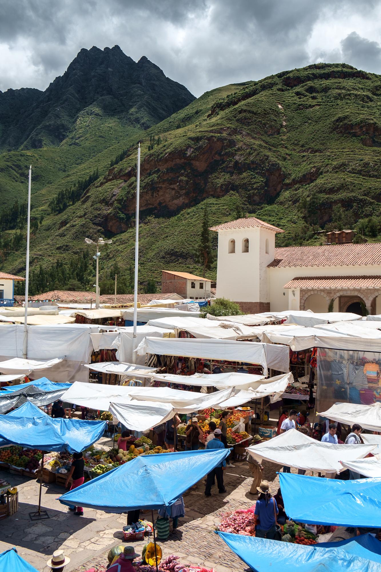 A Aldeia de Pisac e os seus dois mercados