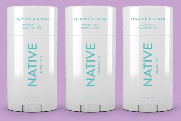 Native Deodorant - code: RETROGRADE for 20% off