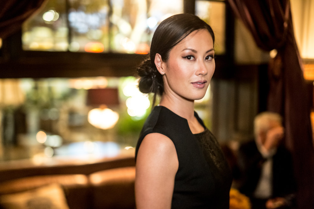 Actress Olivia Cheng
