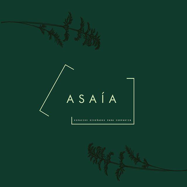Espacios para toda la vida... 💚 branding para Asaía, un proyecto con espacios diseñados para compartir #laselvacreativa #lavalentina #reuneyreinaras #branding #paraisodecreacion #ofizlaif #equipoanimal #stalkeesinpena