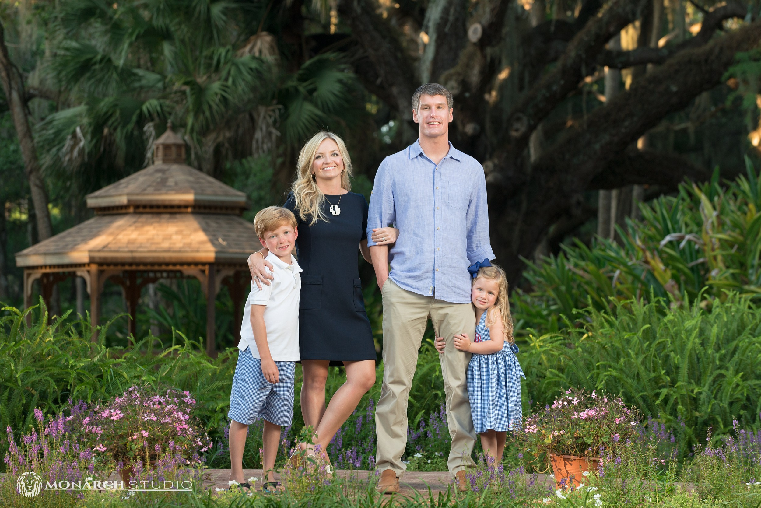 Your St. Augustine Beach family photographers from Monarch Studio will make you feel comfortable and look your best for all your family portraits.