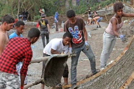 Ethiopia's first skate park opens in Addis Ababa - BBC NEWS