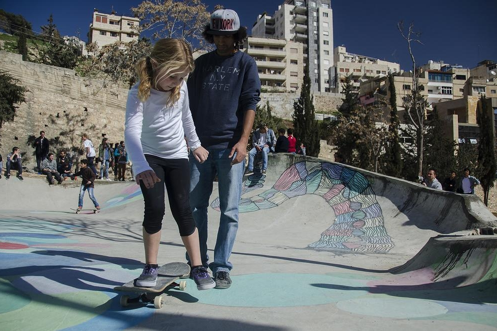 Volunteers open Jordan's first skate park - AL JAZEERA