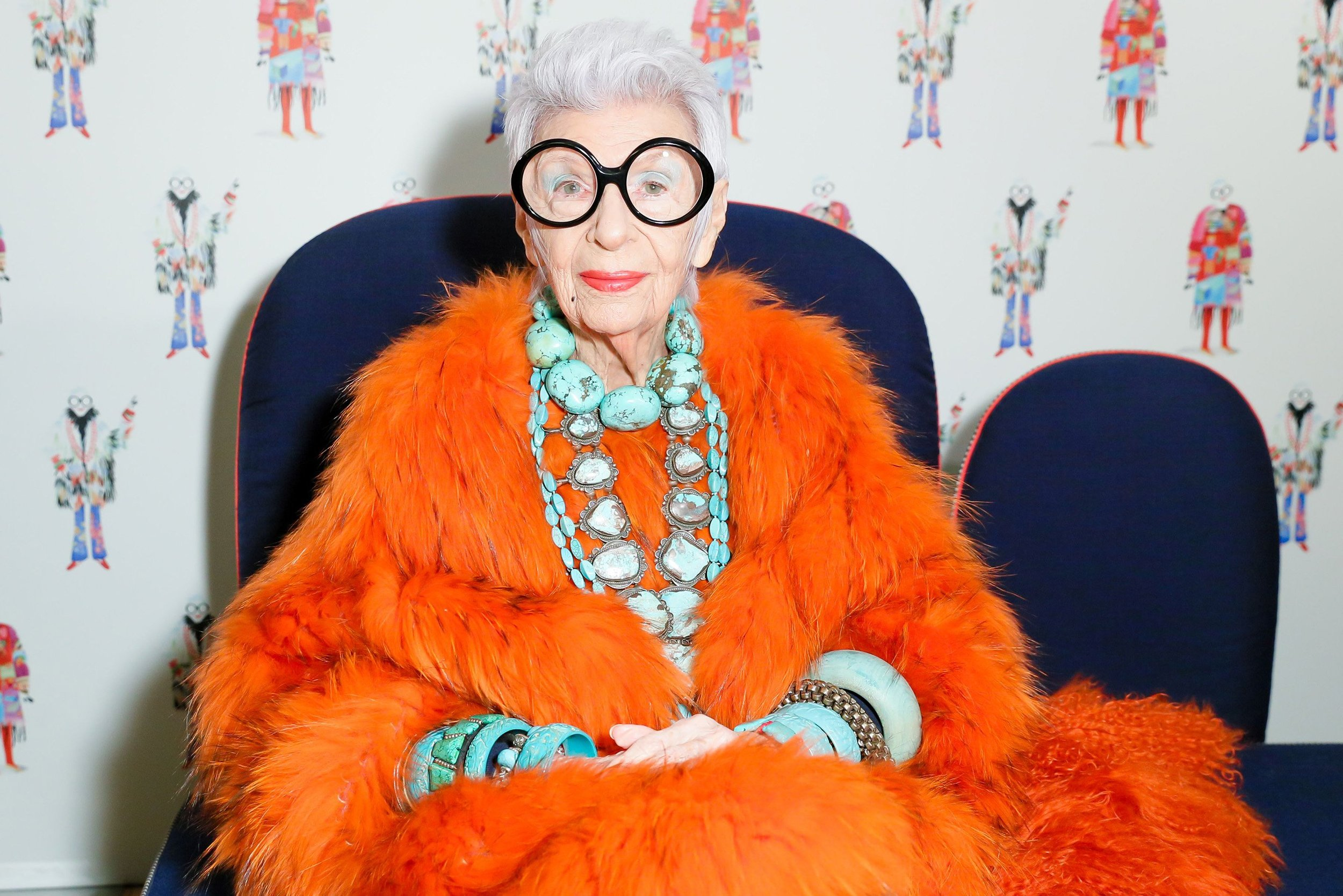 Iris Apfel Is 96 and Will Never Retire