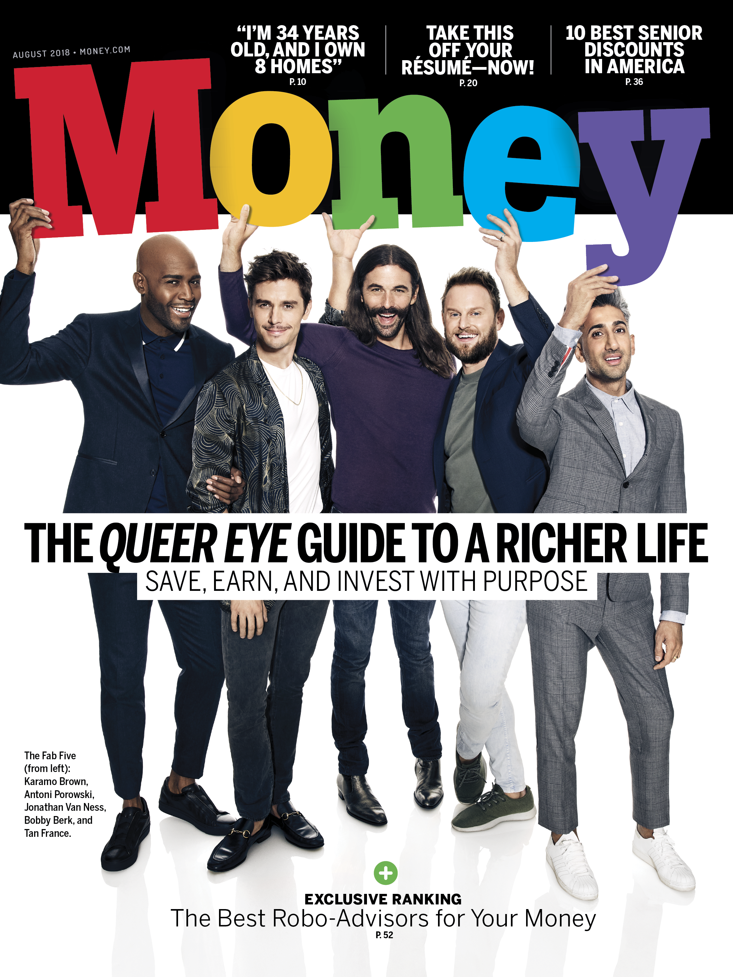 The Queer Eye Guide to a Richer Life