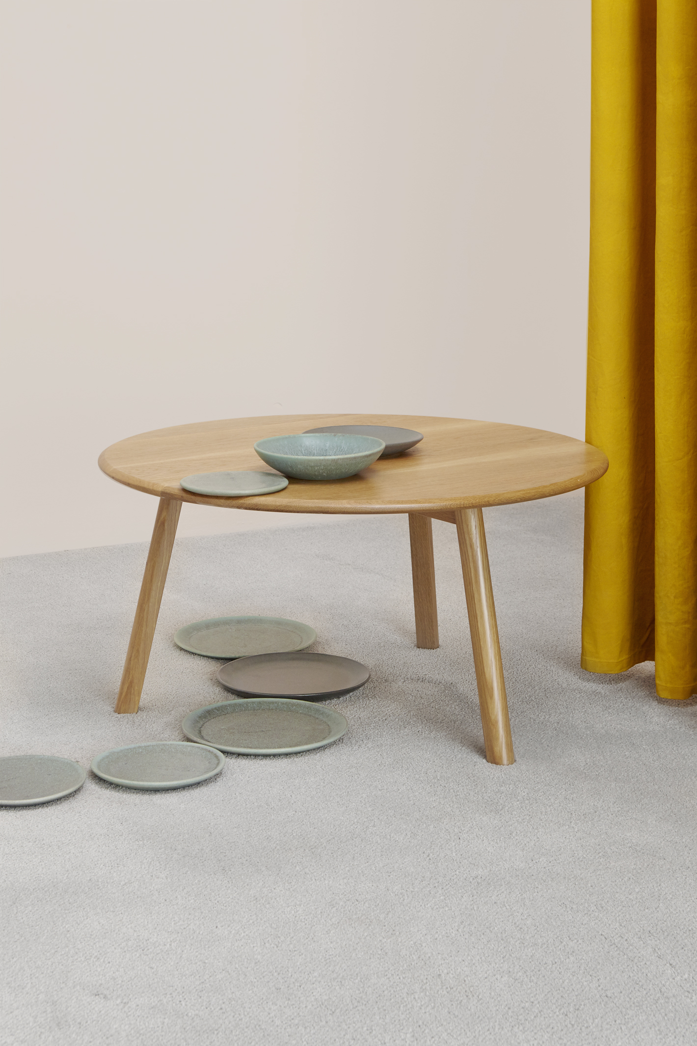 Brooke table and CG ceramics