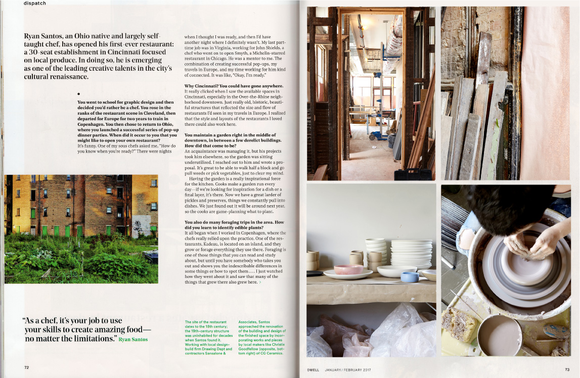 Brush Factory for Please in Dwell Magazine