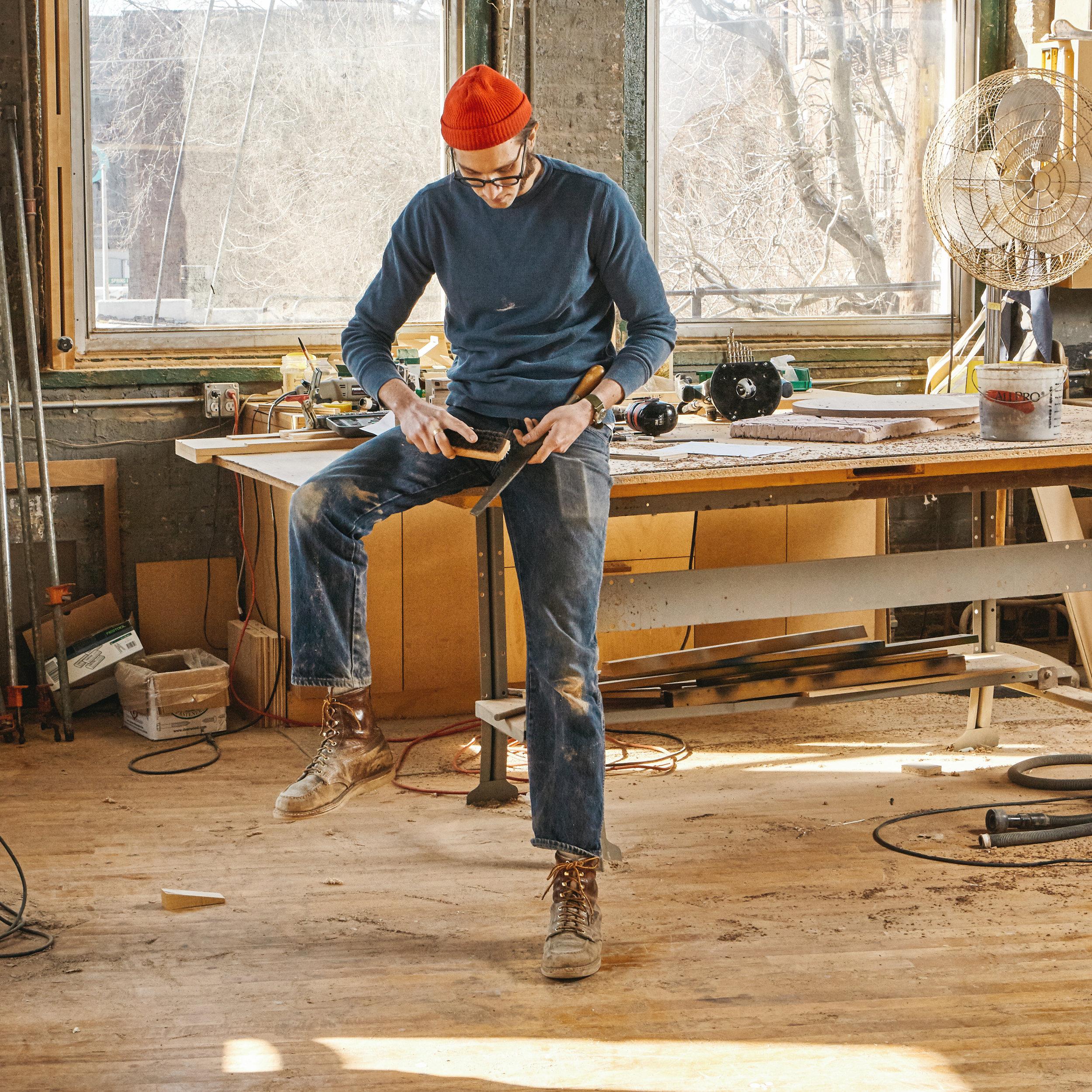 Hayes Shanesy woodworker.jpg