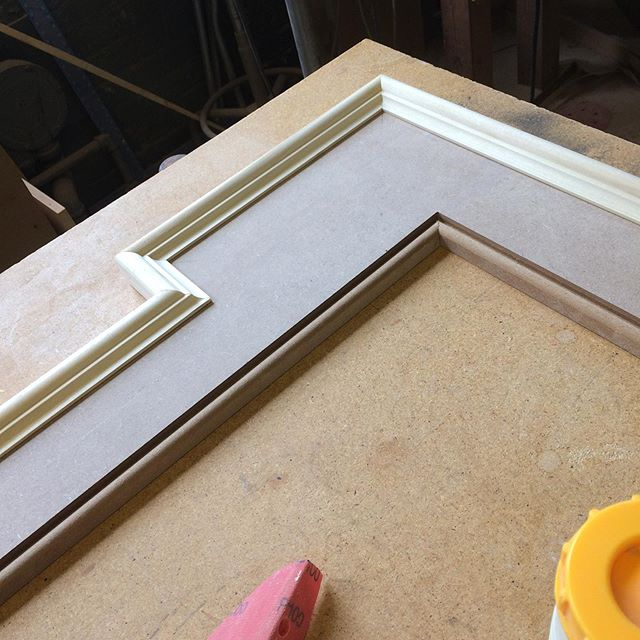 Happy to be finally working on door casings for house renovation. Pleased with these results too. #cabinetmaker #finishcarpentry #millwork #cincymade