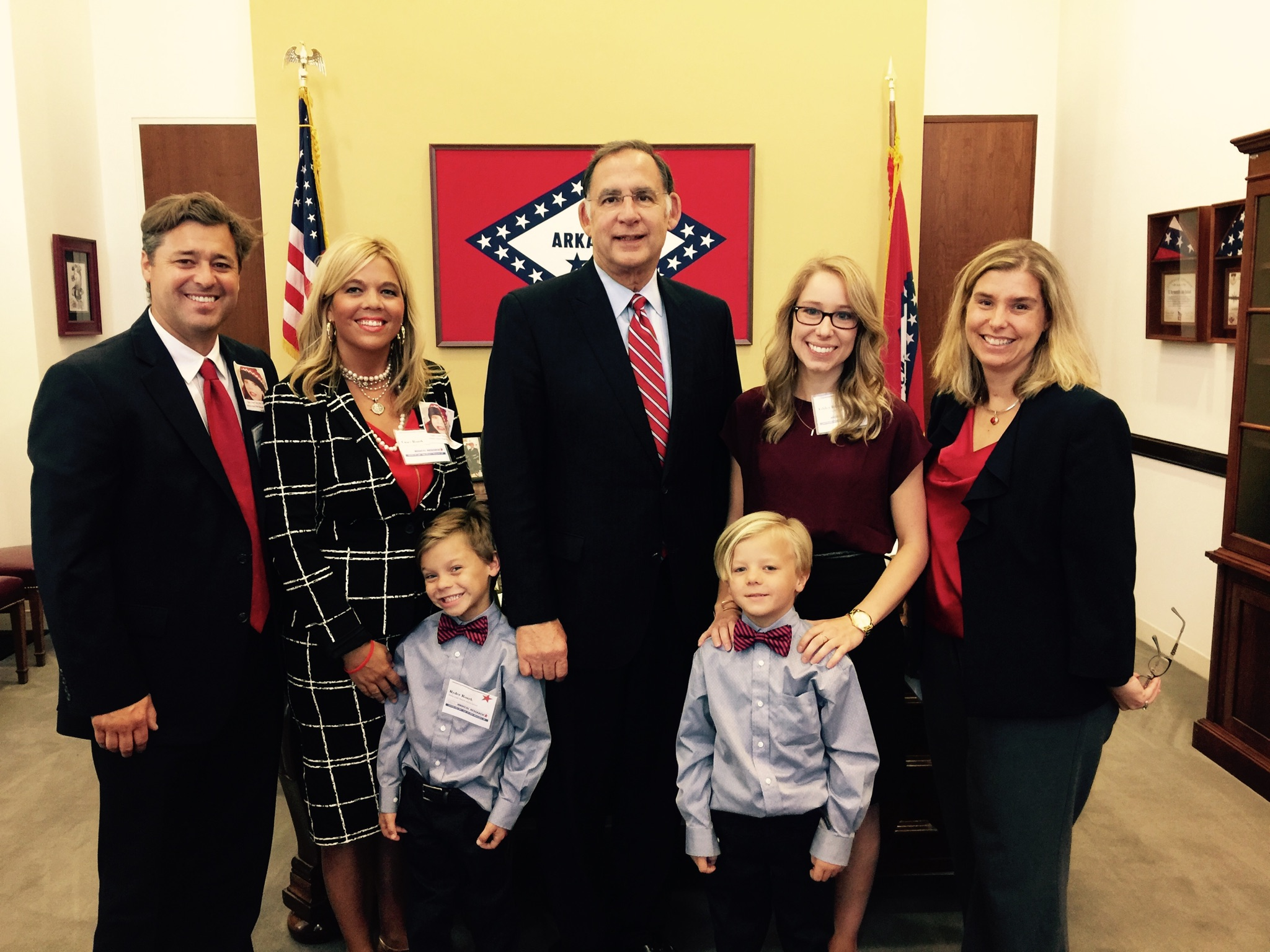 Meeting with Senator Boozman in his Washington Office