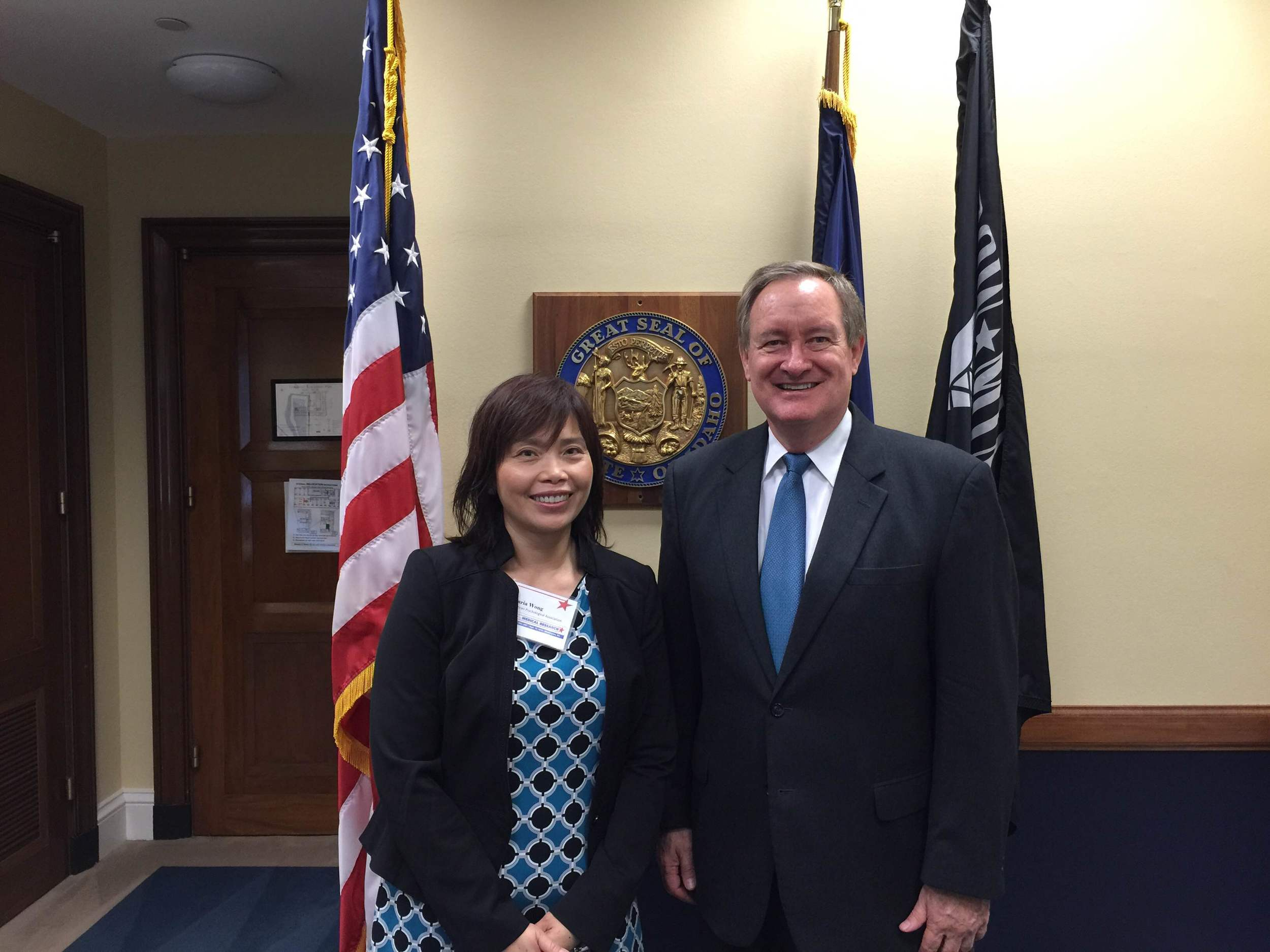 Meeting with Senator Mike Crapo In his washington Office
