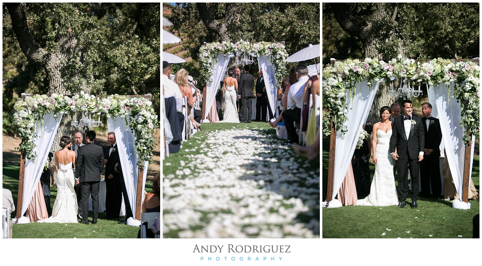 Triunfo Creek Vineyards Wedding Ceremony