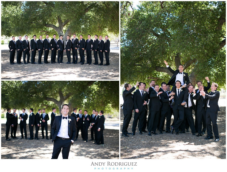 Triunfo Creek Vineyards Groomsmen