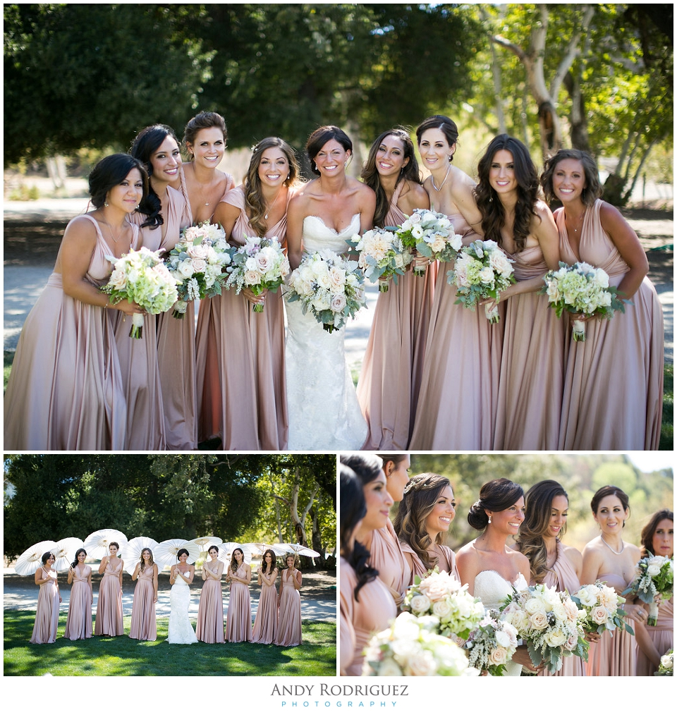 Triunfo Creek Vineyards Bridesmaids