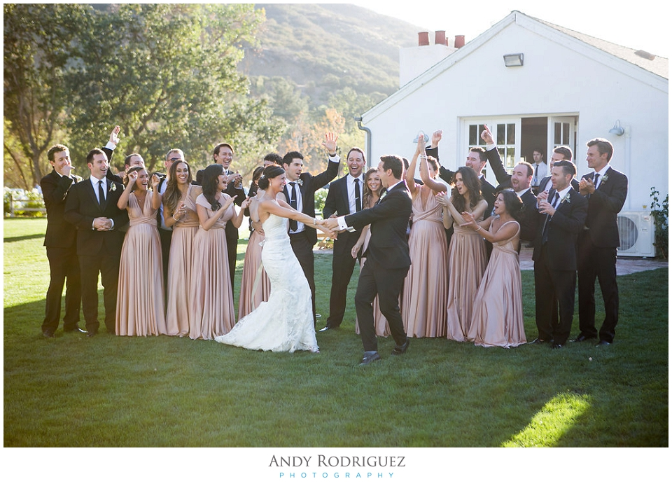 Triunfo Creek Vineyards Wedding Party