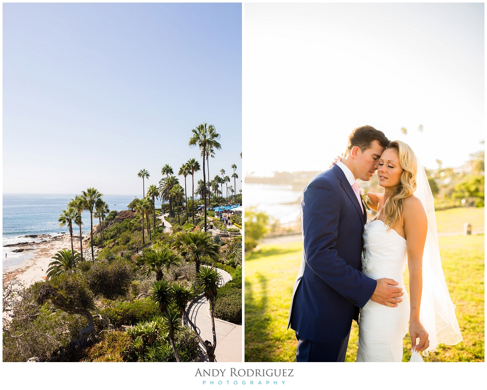 Heisler Park Wedding Portrait
