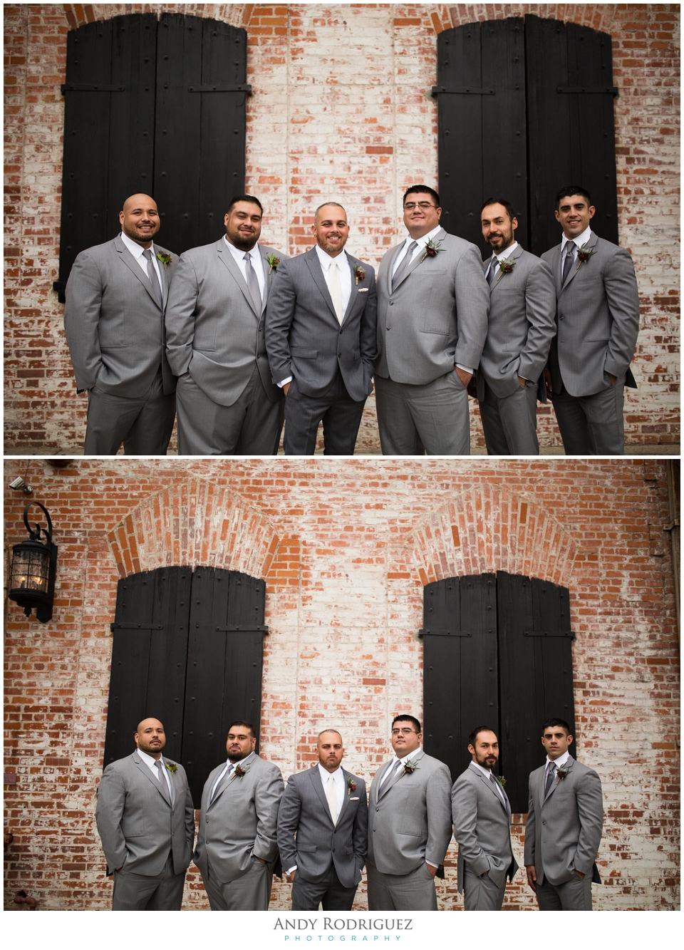 Groomsmen at Carondelet House