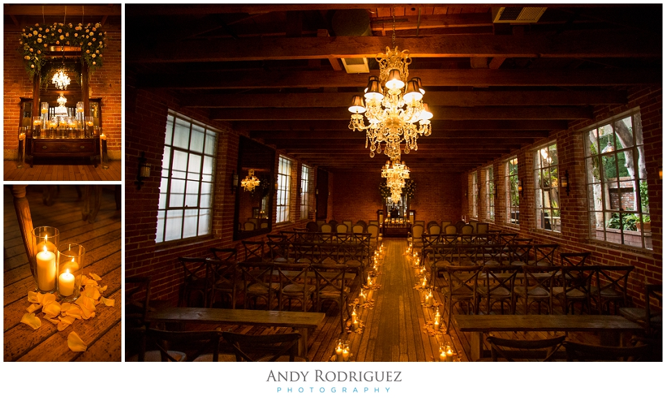 Carondelet House Ceremony Setup