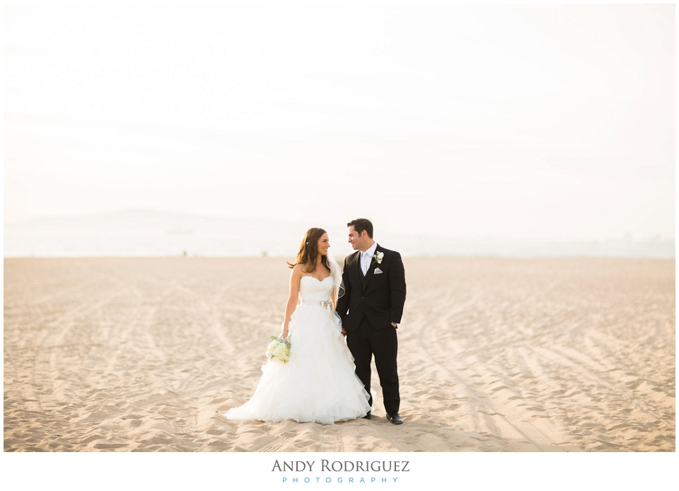 Huntington Beach - Bride and Groom