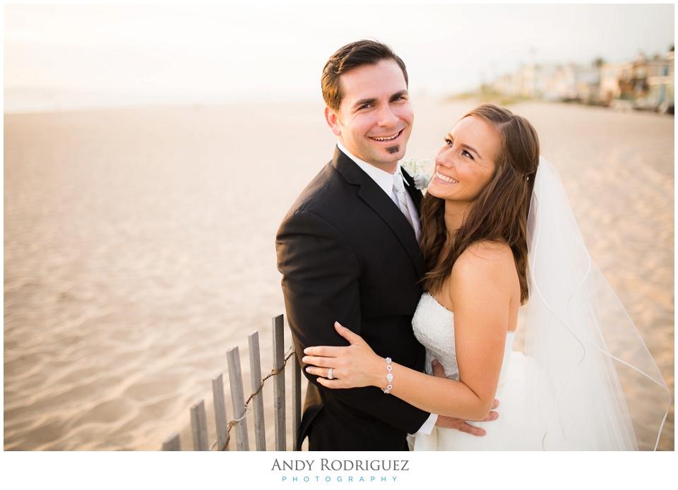 Orange County Wedding Portrait - Bride and Groom