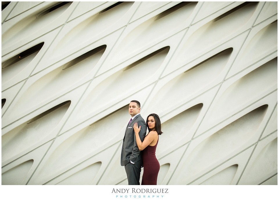 The Broad Engagement Photo