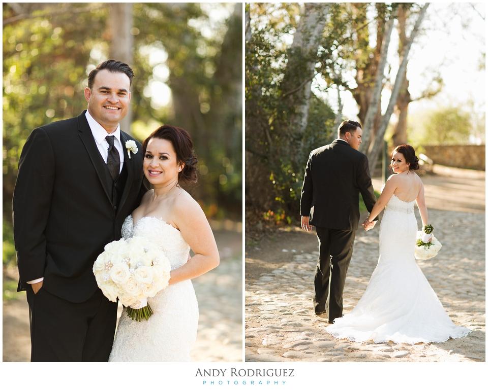 Bride and Groom Wedding Potrait