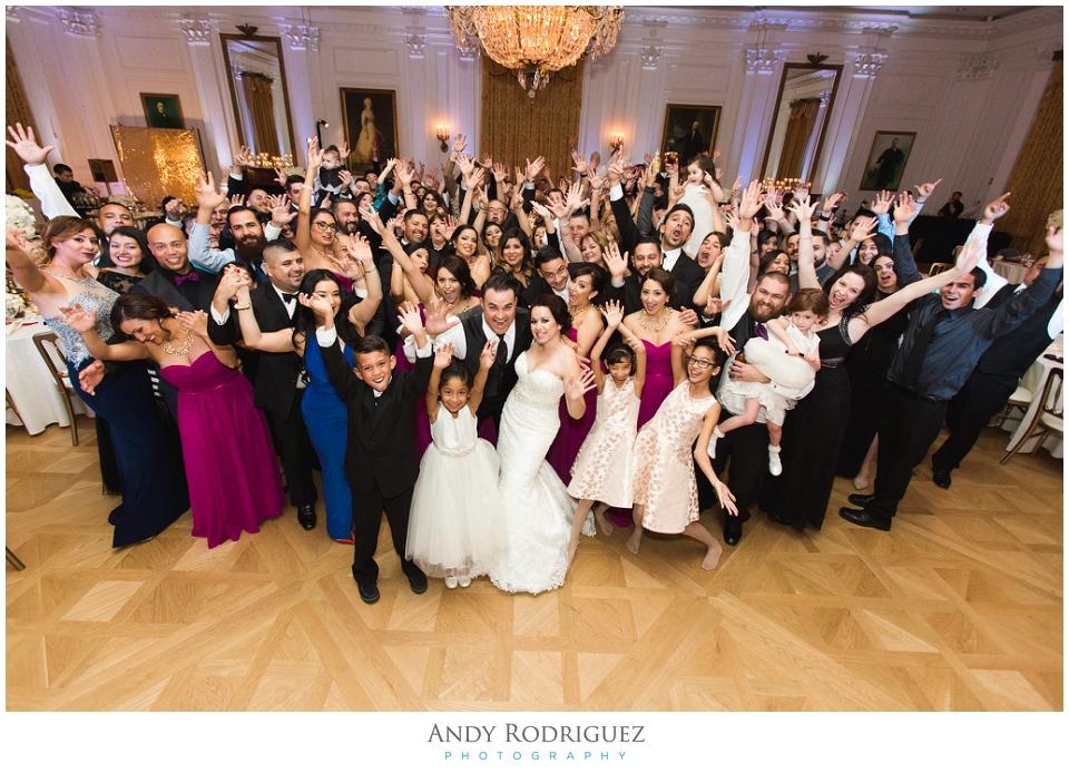 Nixon Library Wedding Reception