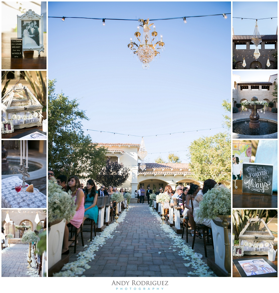 Serra Plaza Wedding Ceremony Details