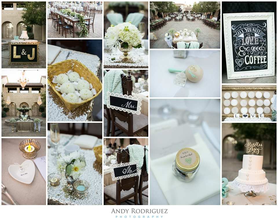 Serra Plaza Wedding Reception Details