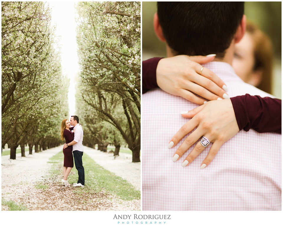 Almond Orchard Romance