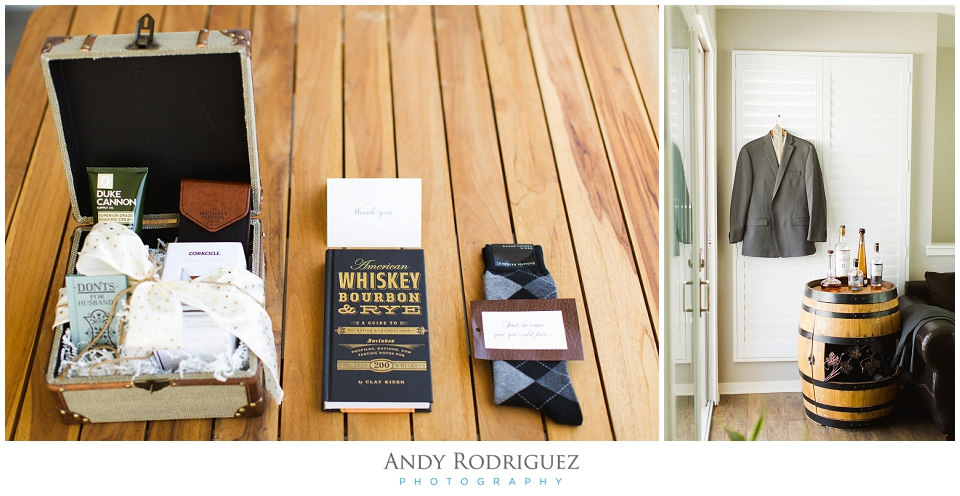 Wayfarers Chapel Wedding Groom Details