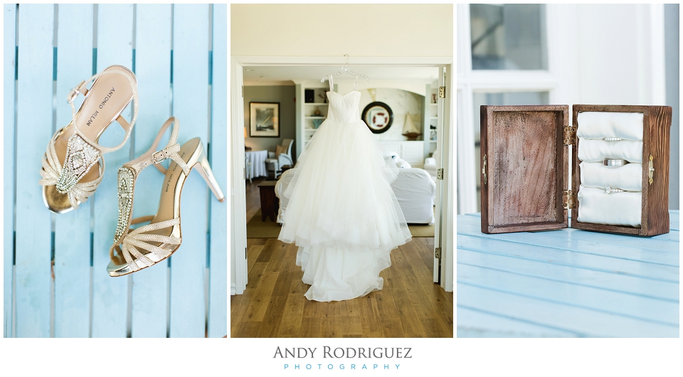Wayfarers Chapel Wedding Bride Details