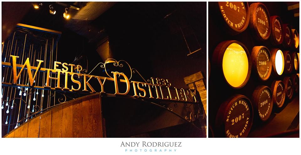 The Whiskey Experience in Edinburgh Scotland