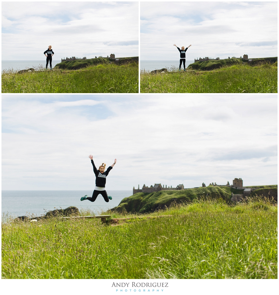 Dunnotar Castle Fun