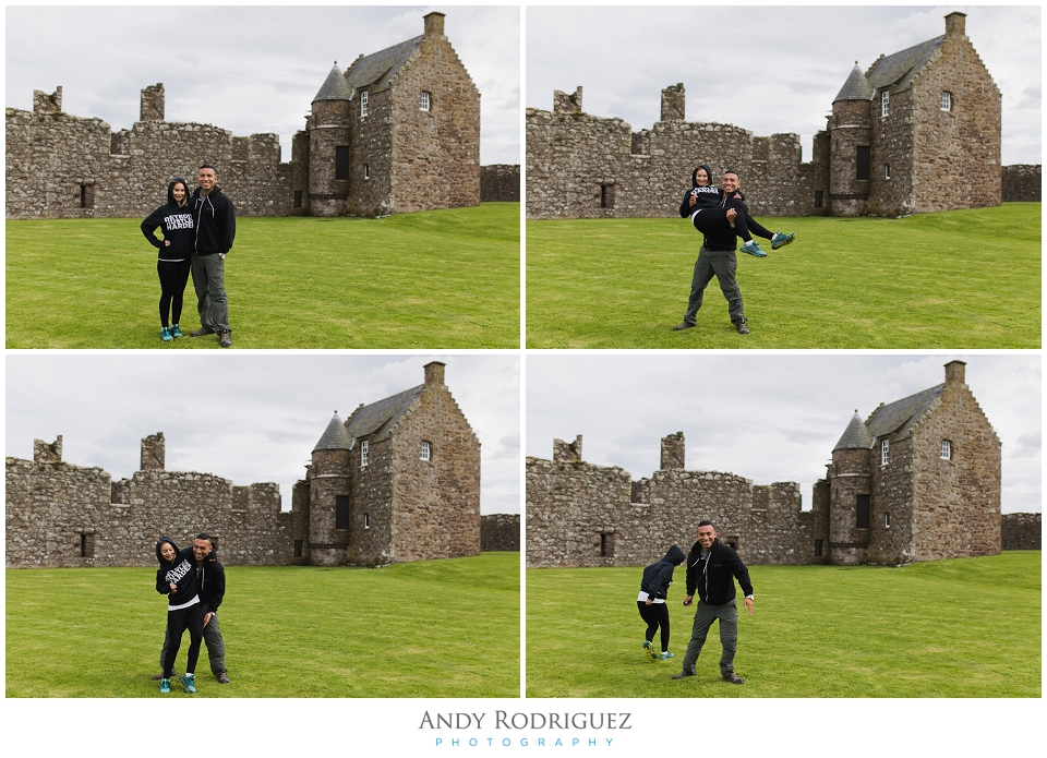 Couples Photo at Dunnotar Castle