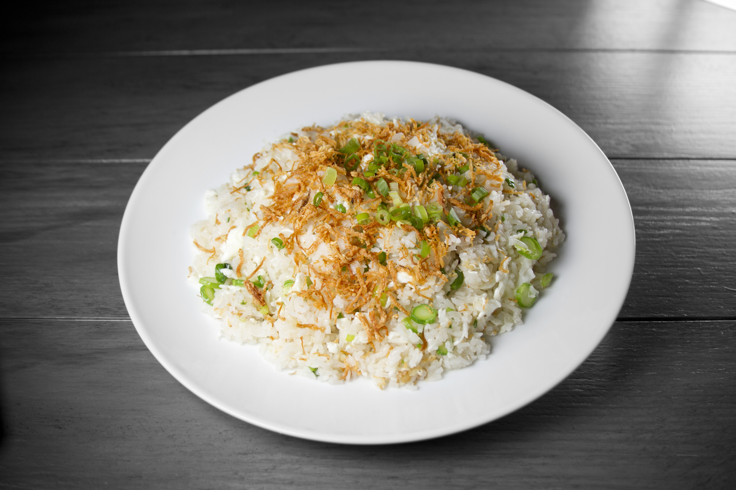 Dried Scallop & Egg White Fried Rice