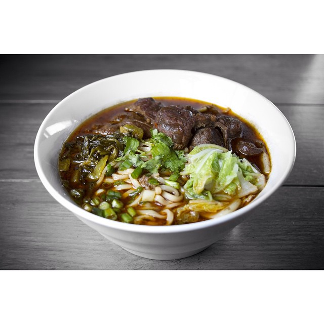 Come try our popular Taiwanese Beef Noodle Soup! It tastes just like the one you find on the famous Yong Kang Street in Taipei!