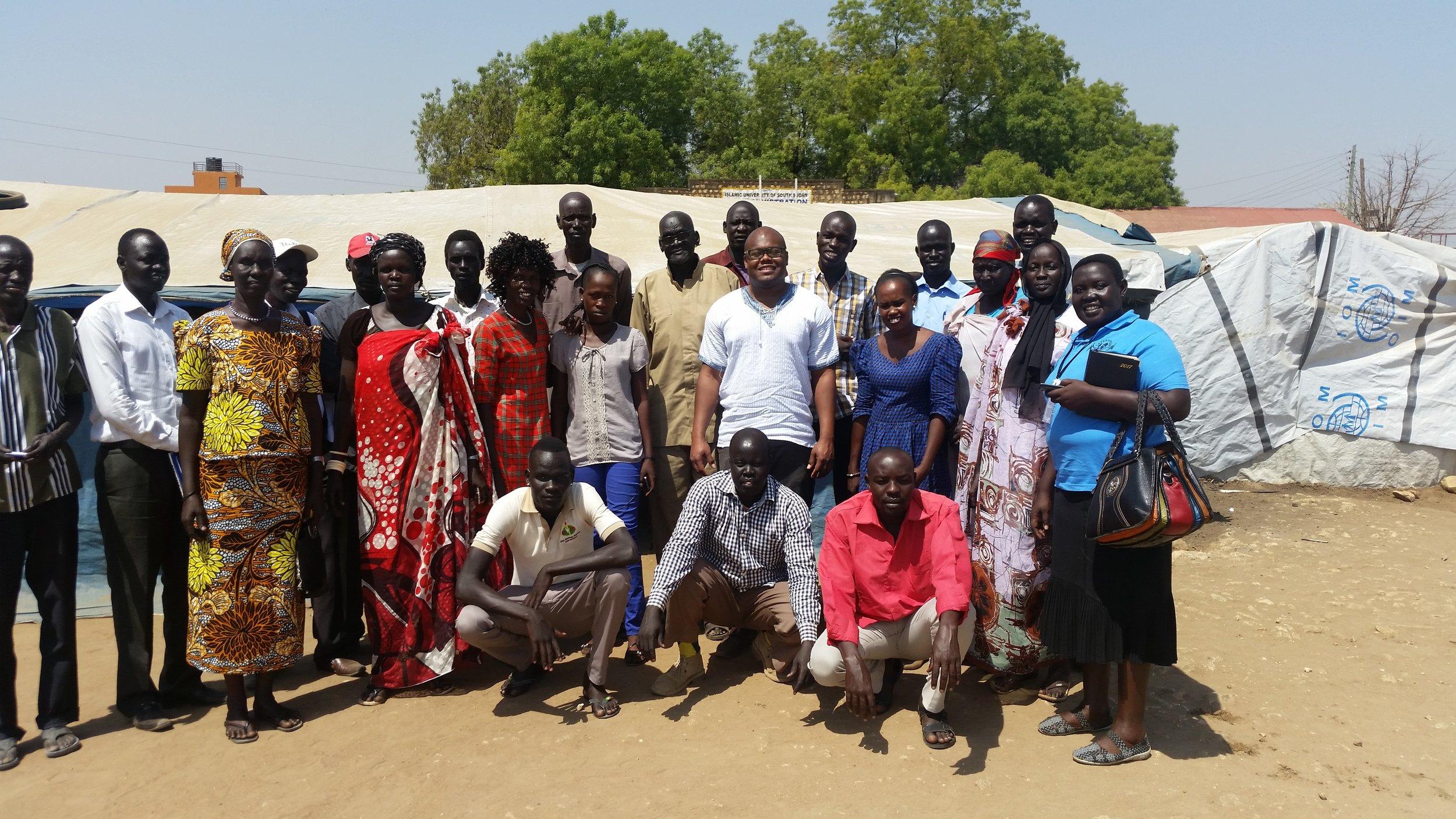 Elders and Leaders of the Mahad IDP Camp, Juba.